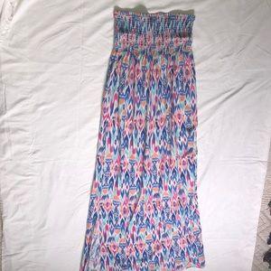 GAP Patterned Maxi-dress